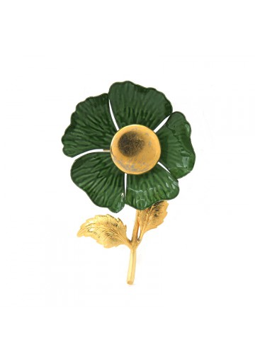 Vintage brooch FLOWER USA