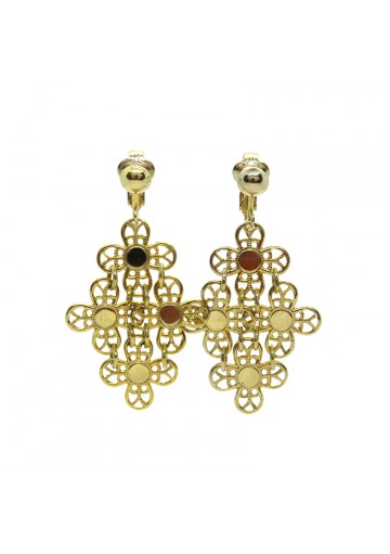 Vintage earrings GOLDEN PETALS SARAH COVENTRY