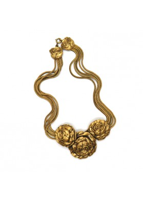Necklace ROSES MAURICE OF HOLLYWOOD