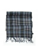 Scarf wool checks GALLIENI1889