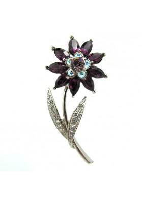 Brooch FLOWER VILLANUEVA CAREY