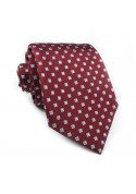 Tie silk checks CRISTIAN BERG