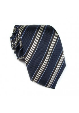 Tie silk stripes CRISTIAN BERG