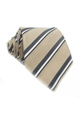 Tie silk stripes MOSCHINO