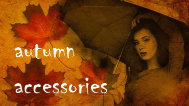 autumn accessories