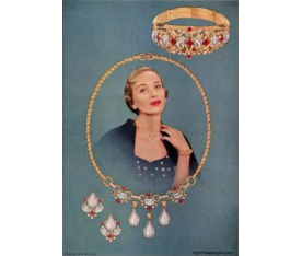 Trifari costume jewelry: 1950-1959